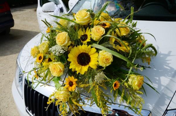 Autodekoration, Rosen/Sonnenblumen