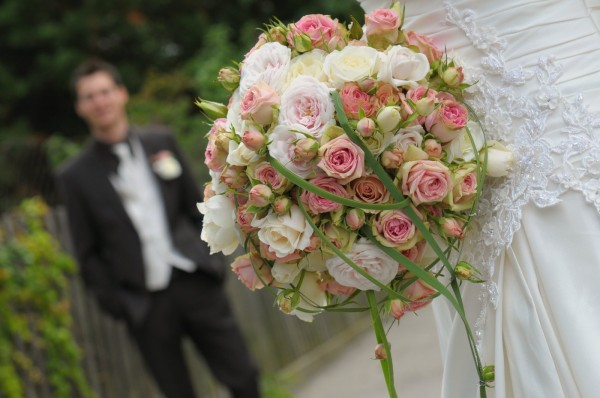 romantischer Rosenstrauss